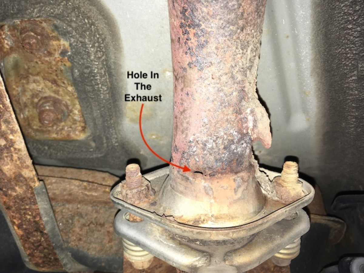 Any leaks in an exhaust system can smell like a gas leak, especially if the leak is before the catalytic converter.