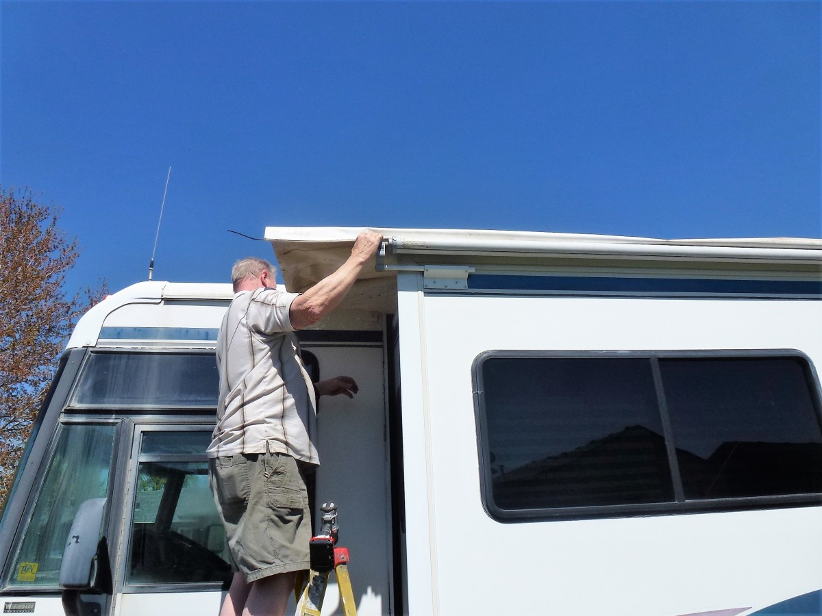 How To Replace Awning Fabric On An Rv Slideout Axleaddict