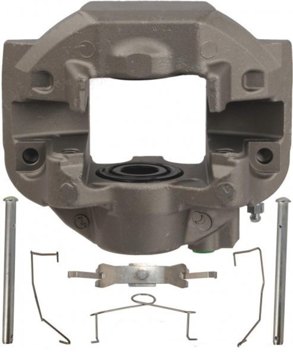 LS460 Brake Caliper with Guide Pins and Springs.