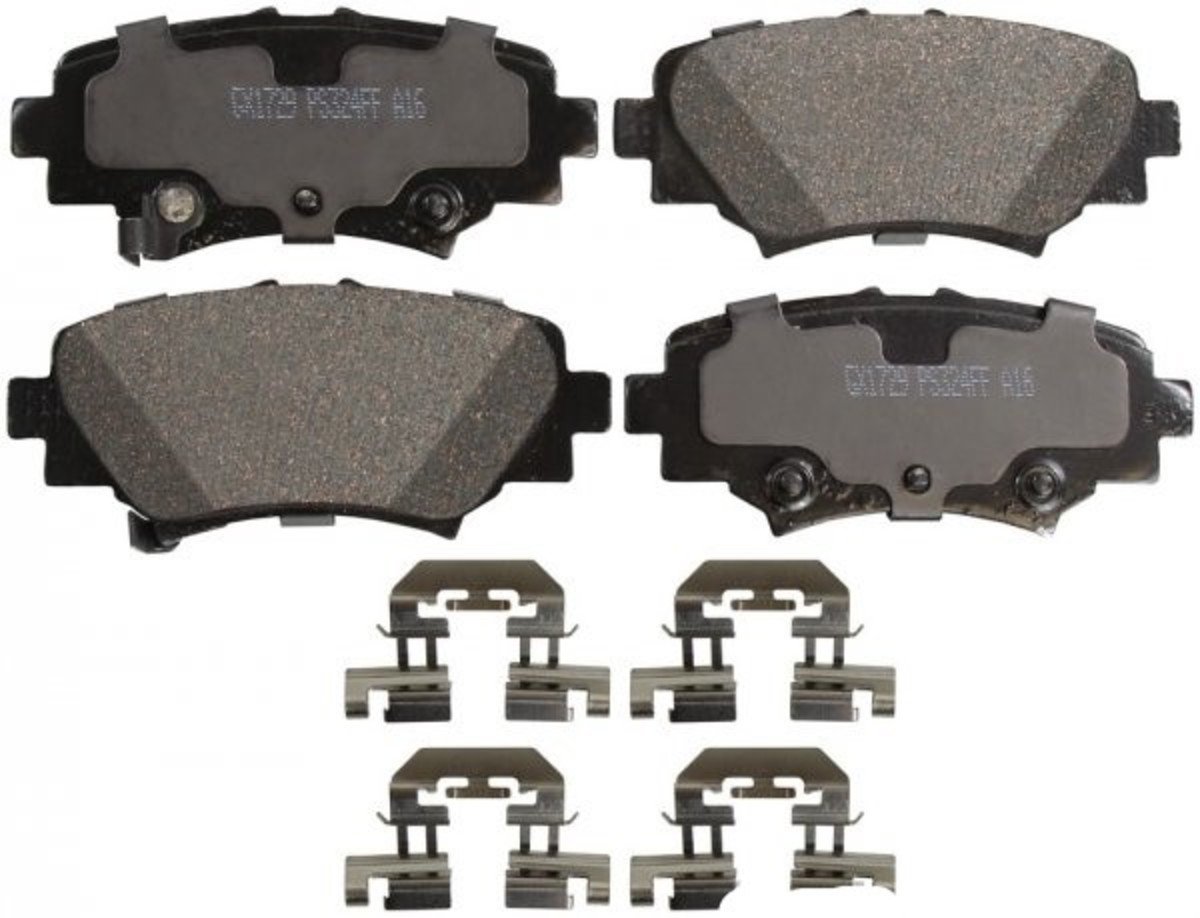 Mazda 3 Rear Brake Pads with Shims