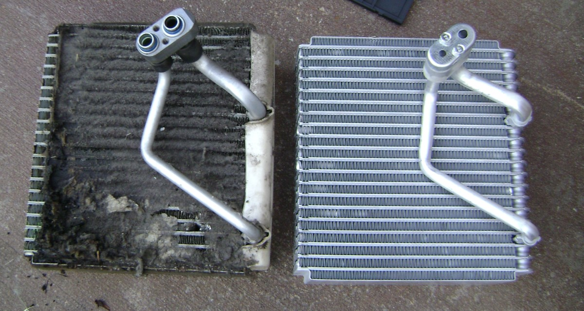 Old vs New Evaporator Core