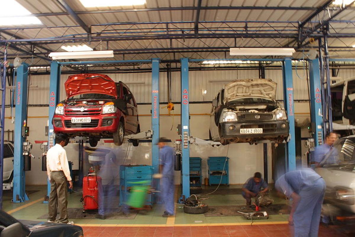 在某些车辆上,低油压会使发动机无法启动。