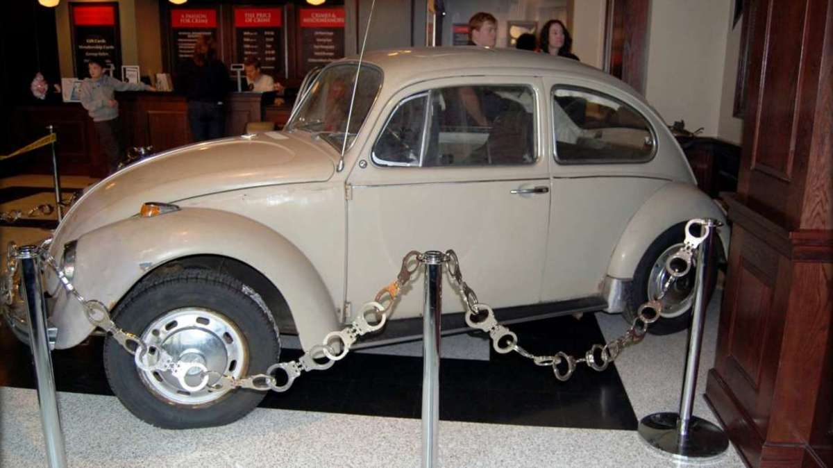Ted Bundy's Volkswagon Beatle.