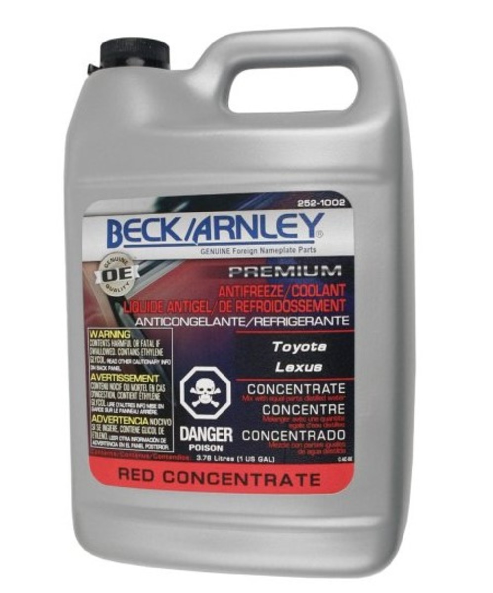 Beck/Arnley Toyota Coolant
