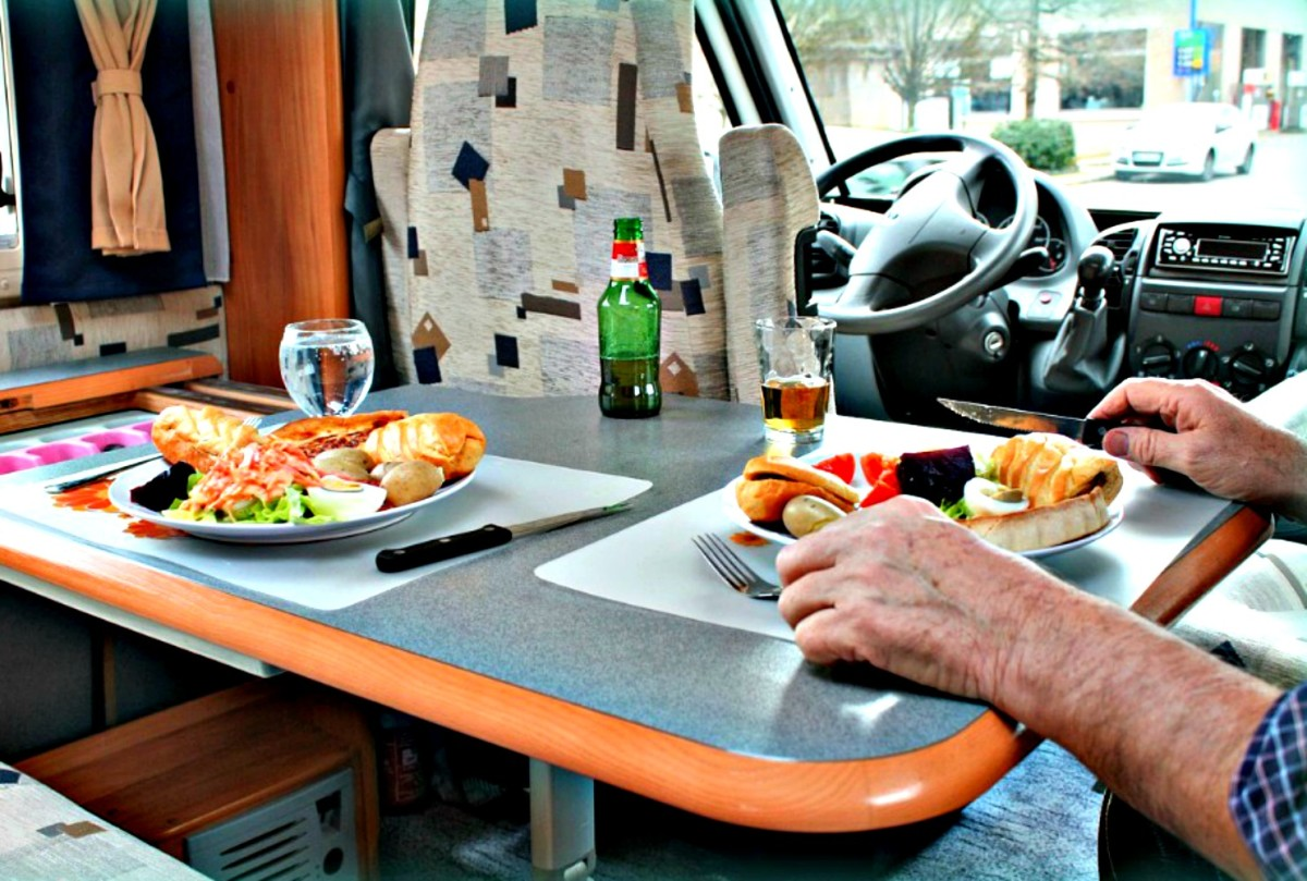 How much living area will you need to have in your RV?