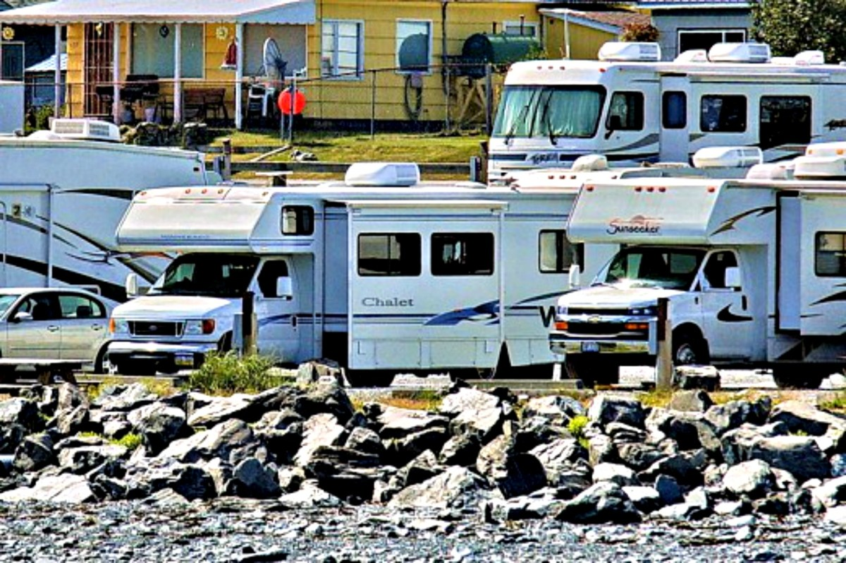 Crowding in campgrounds is keeping people from buying RVs.