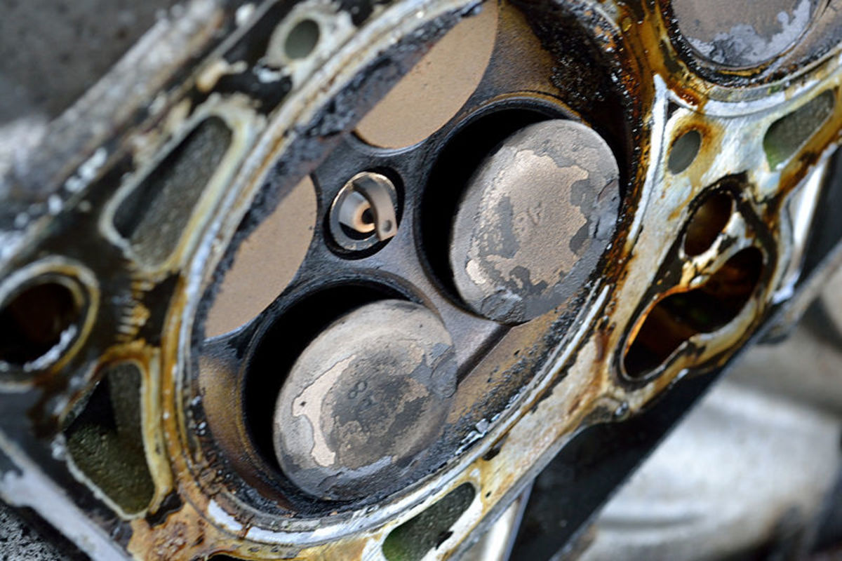 A broken timing belt can cause severe damage like bent valves.