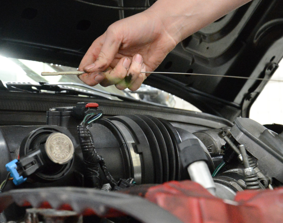 Low oil level can cause valve train noise.