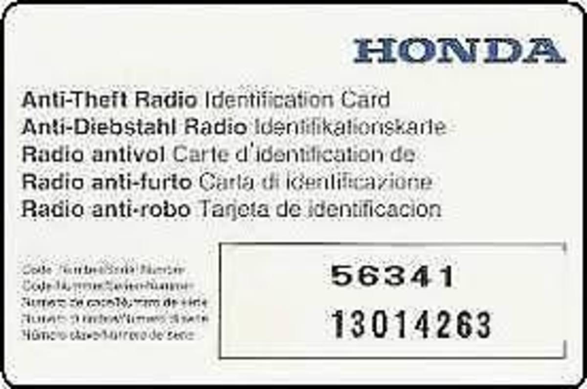 3 Ways to Unlock Your Honda Radio Code | AxleAddict