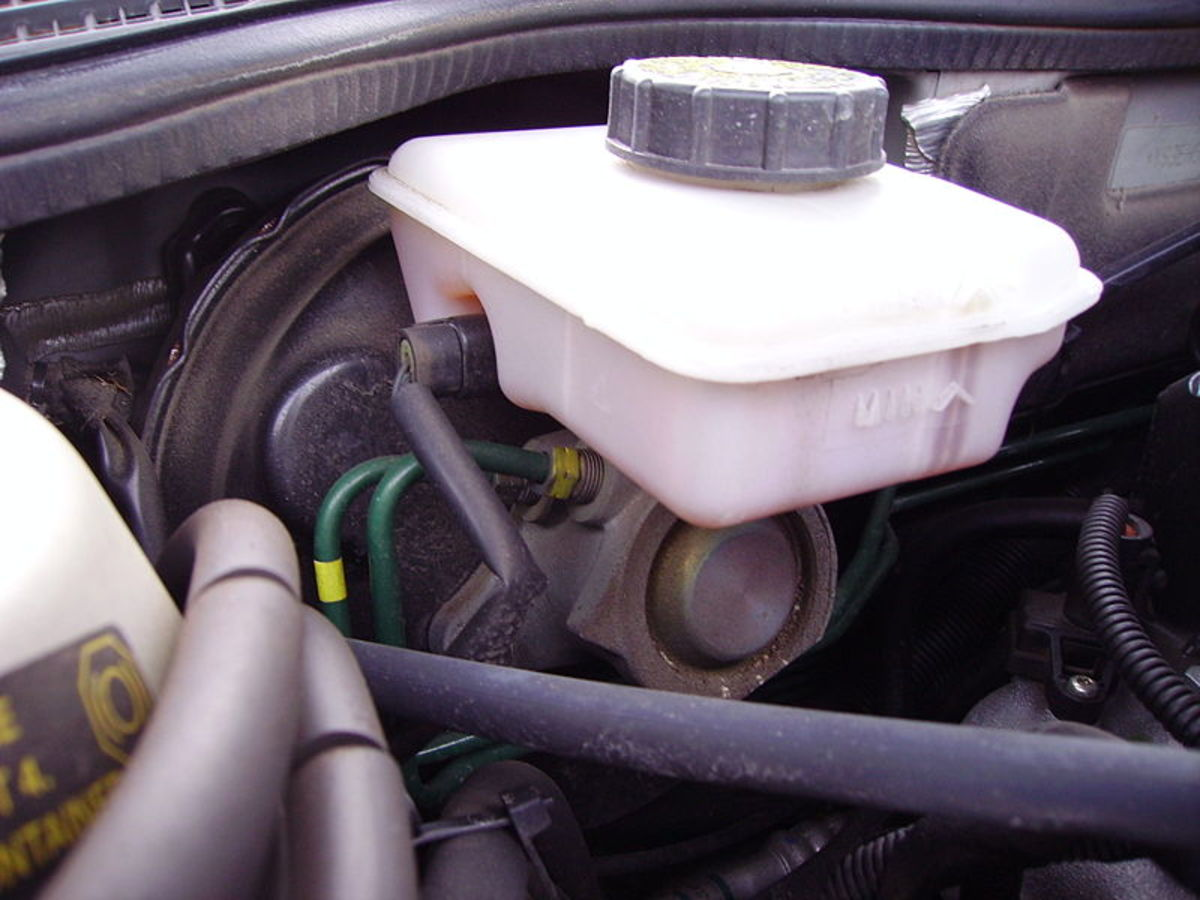 A brake master cylinder may clog, seals or cylinder may fail.