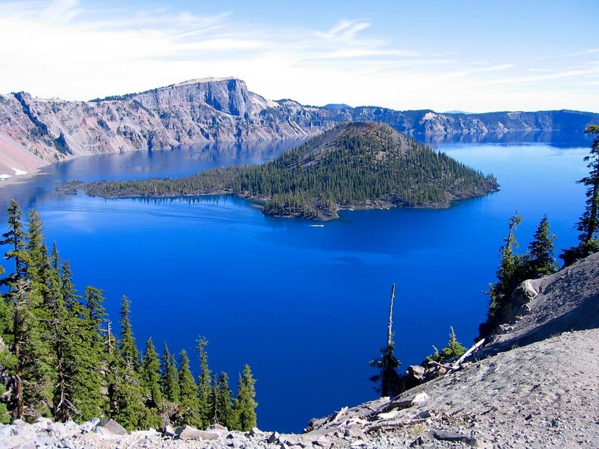 Crater Lake, wonder of the world
