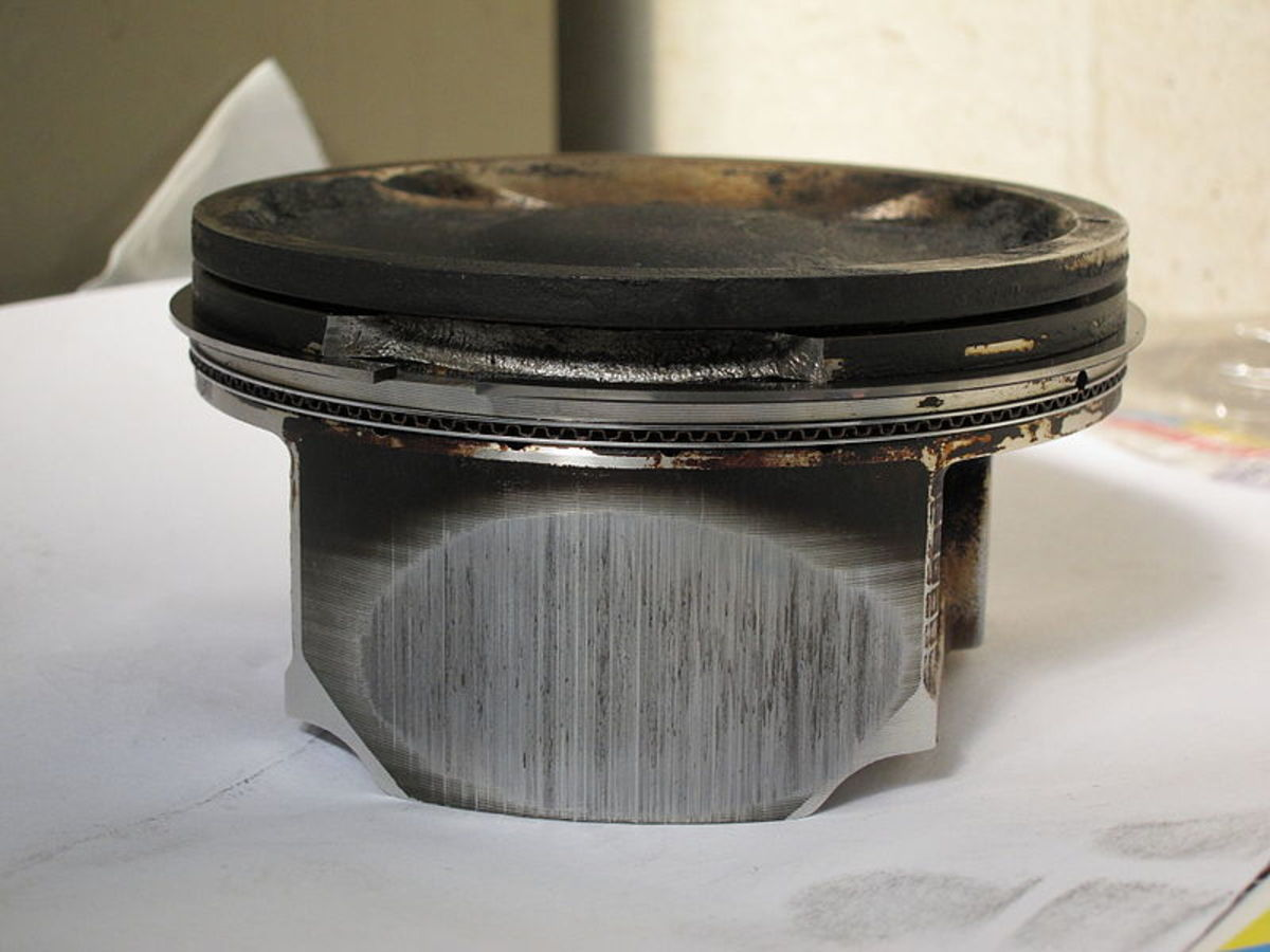 Overheating can also melt and damage pistons.