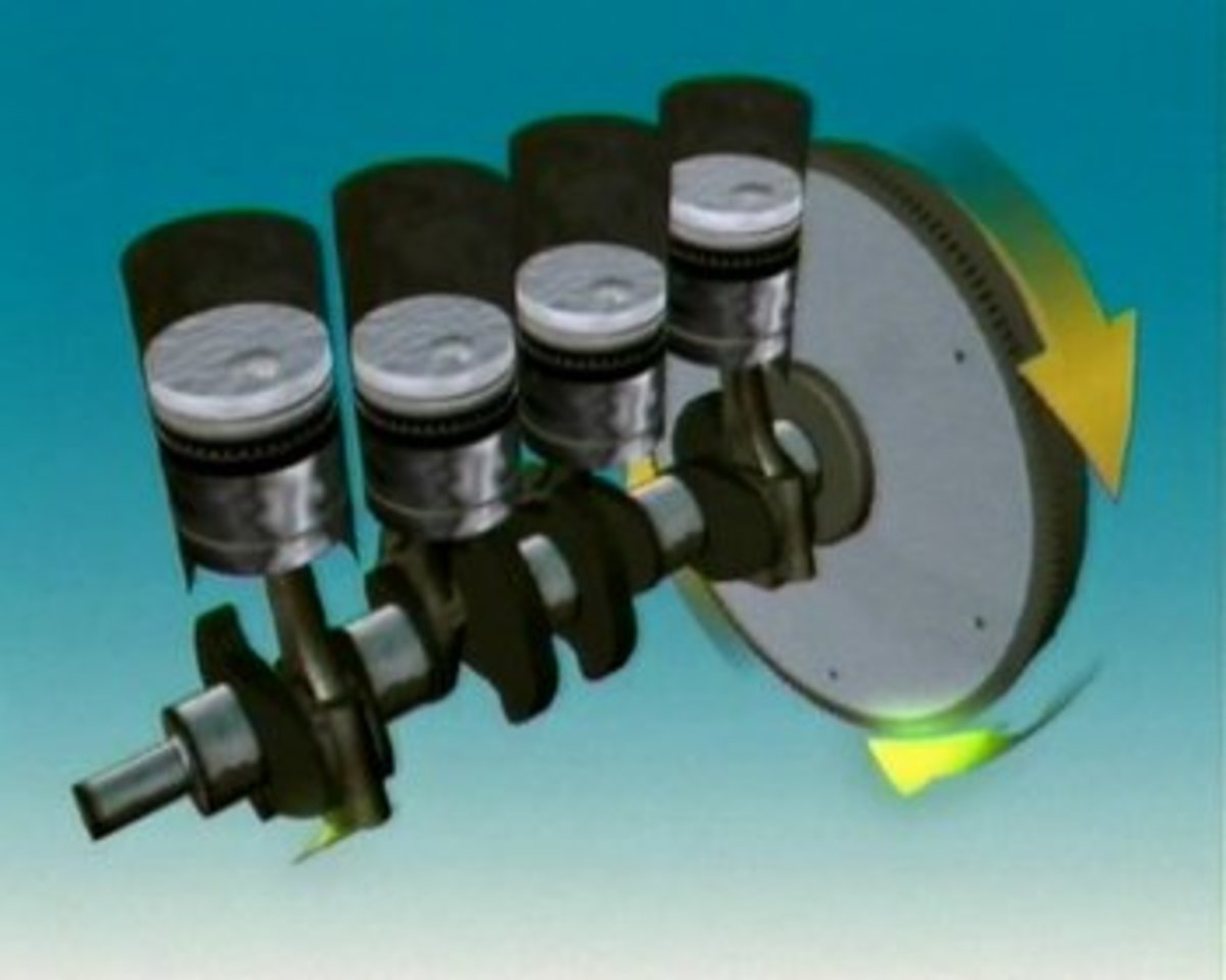 Turn the crankshaft clockwise using a breaker bar; if necessary, remove the spark plugs.