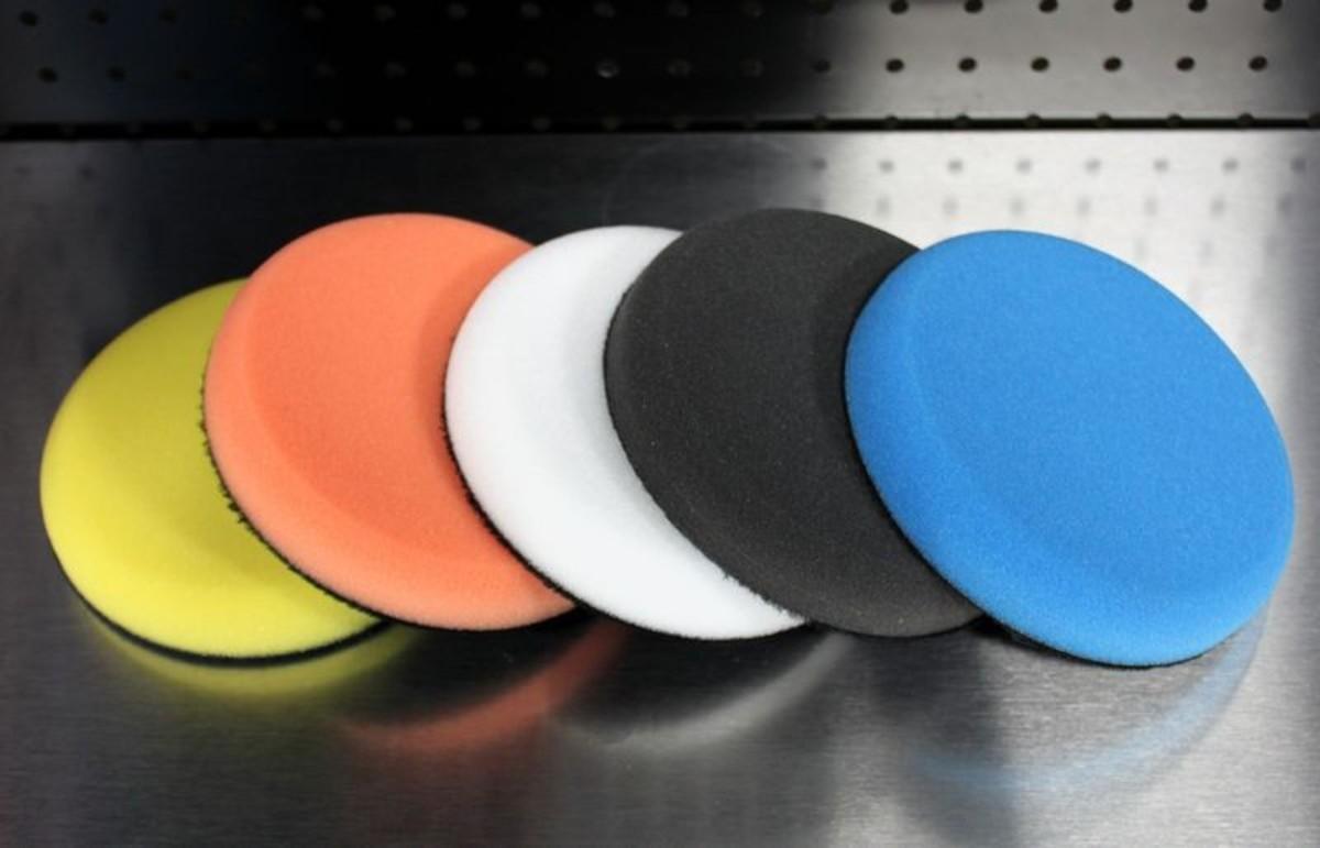 Foam DA Polishing/Compounding/Waxing Pads