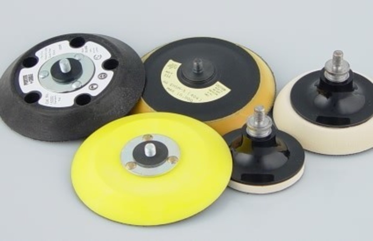 Different Types and Sizes of Backing Plates