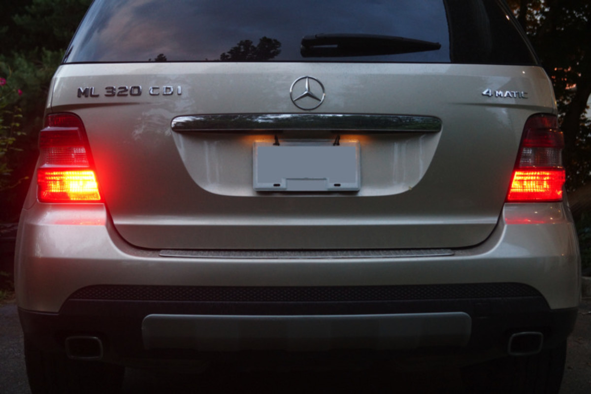 Taillights are controlled through the headlamps switch.