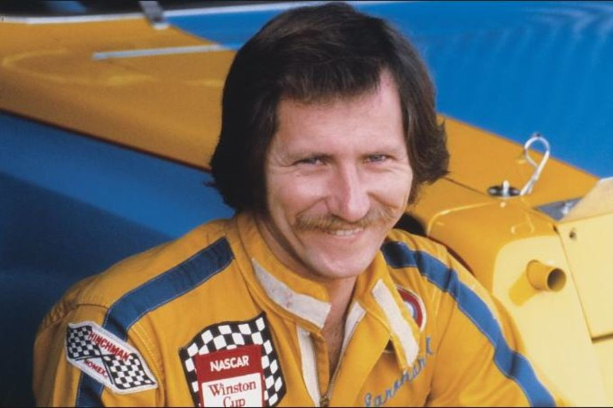 Young Dale Earnhardt Sr. in his early racing days.