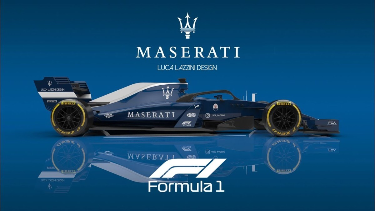 Maserati Formula 1 Render