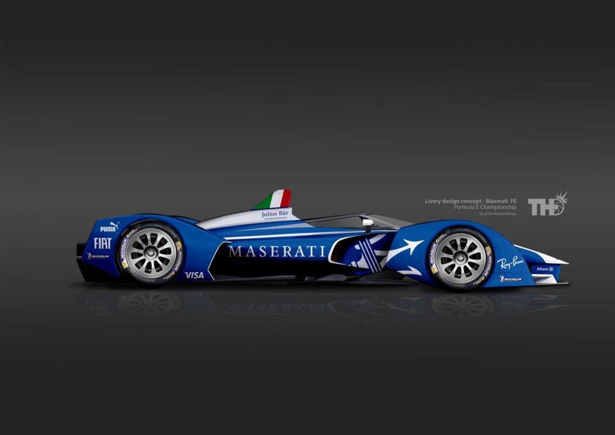 Maserati Formula E Render