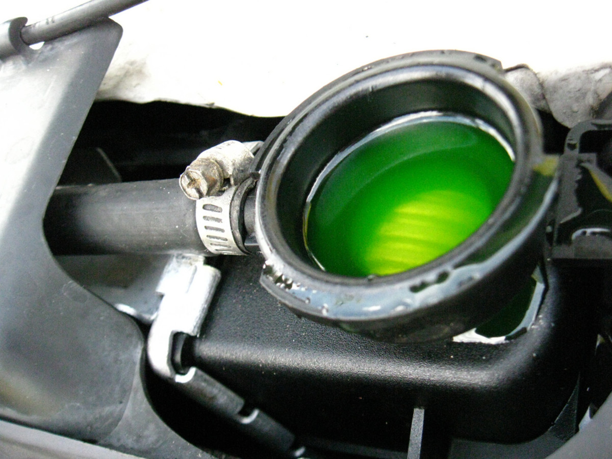You can add an anti-rust solution to your fresh antifreeze for better protection.