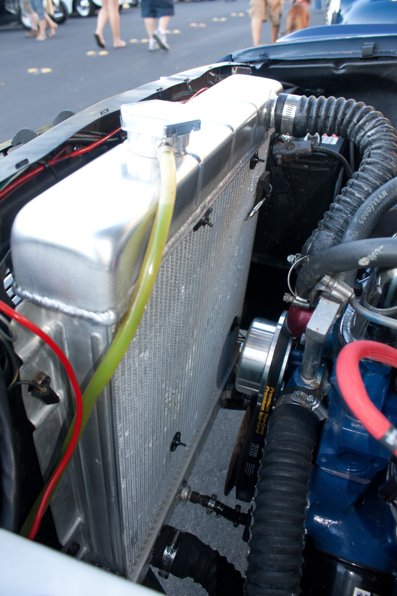 You can remove the lower radiator hose to drain the cooling system, if a petcock or drain valve is not provided on your radiator.