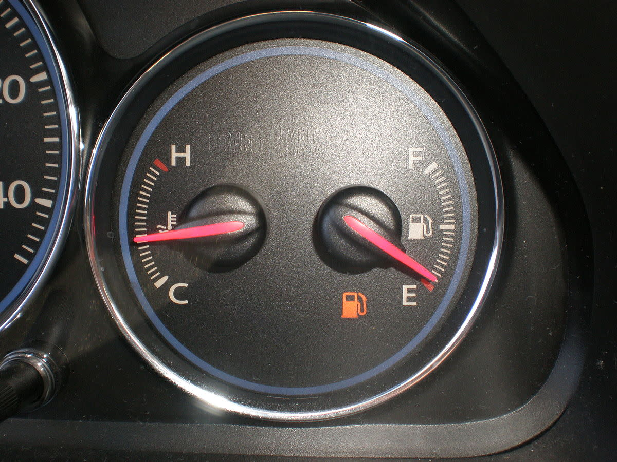 Usually, the first sign that something is wrong with your cooling system is the temperature gauge.