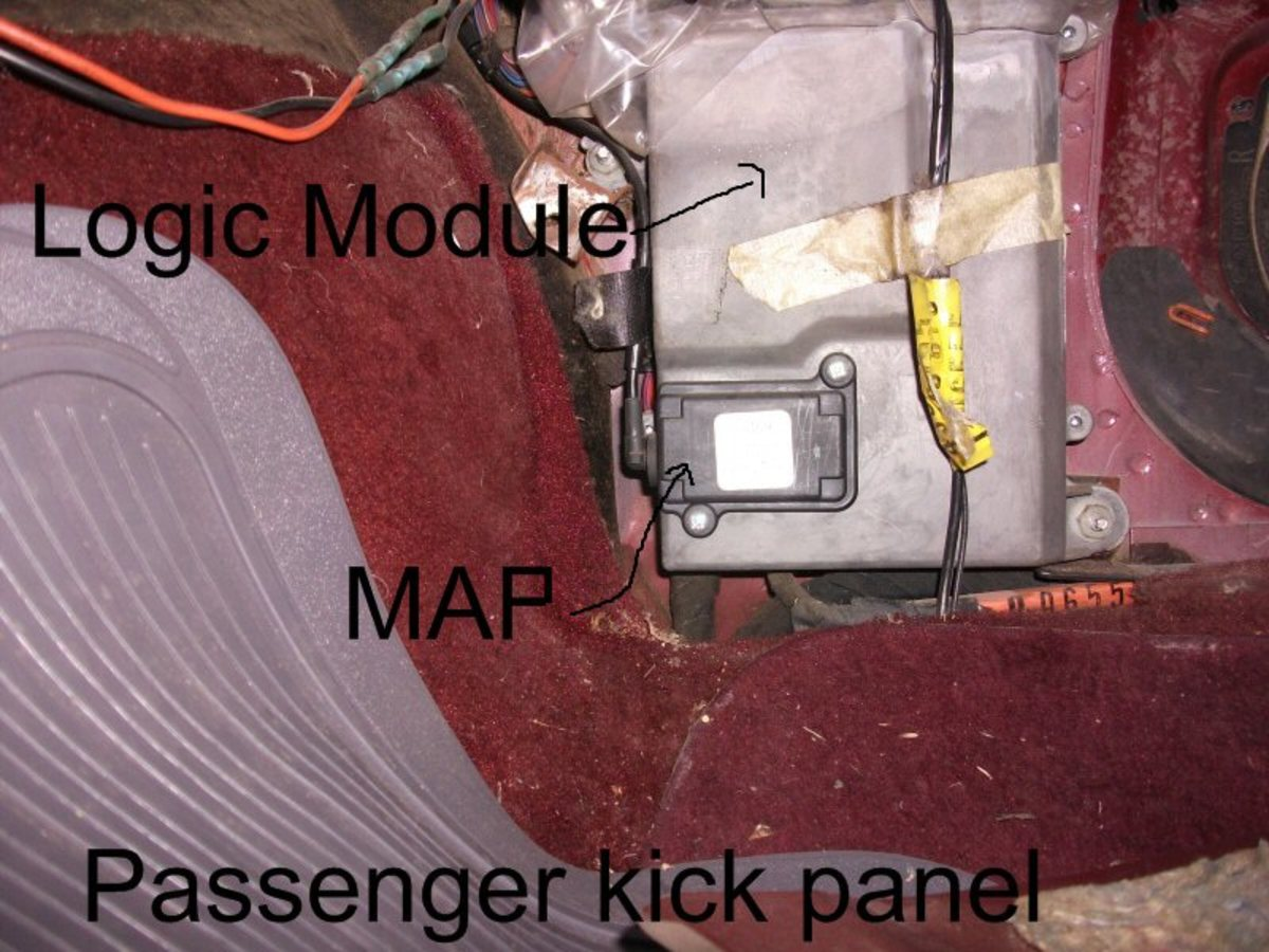 Locate and test the MAP sensor.