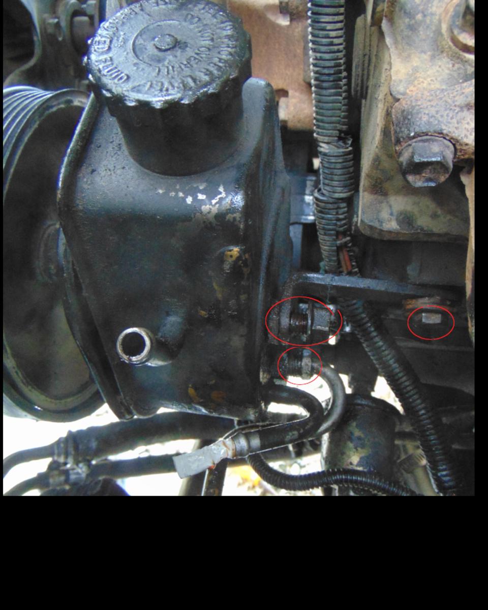 3 mounting screws.