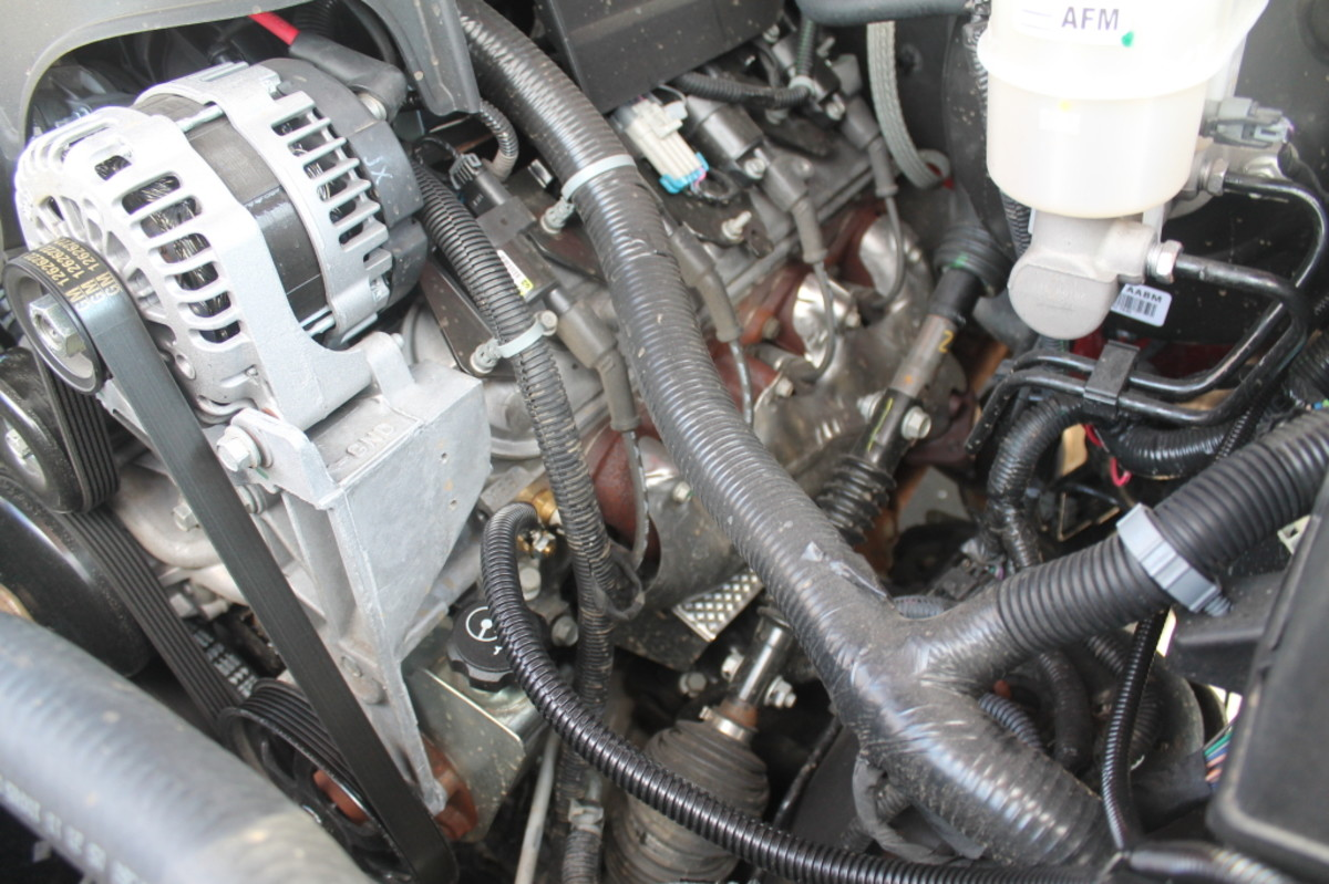 Check engine for missing grounds, loose or corroded ground connections.