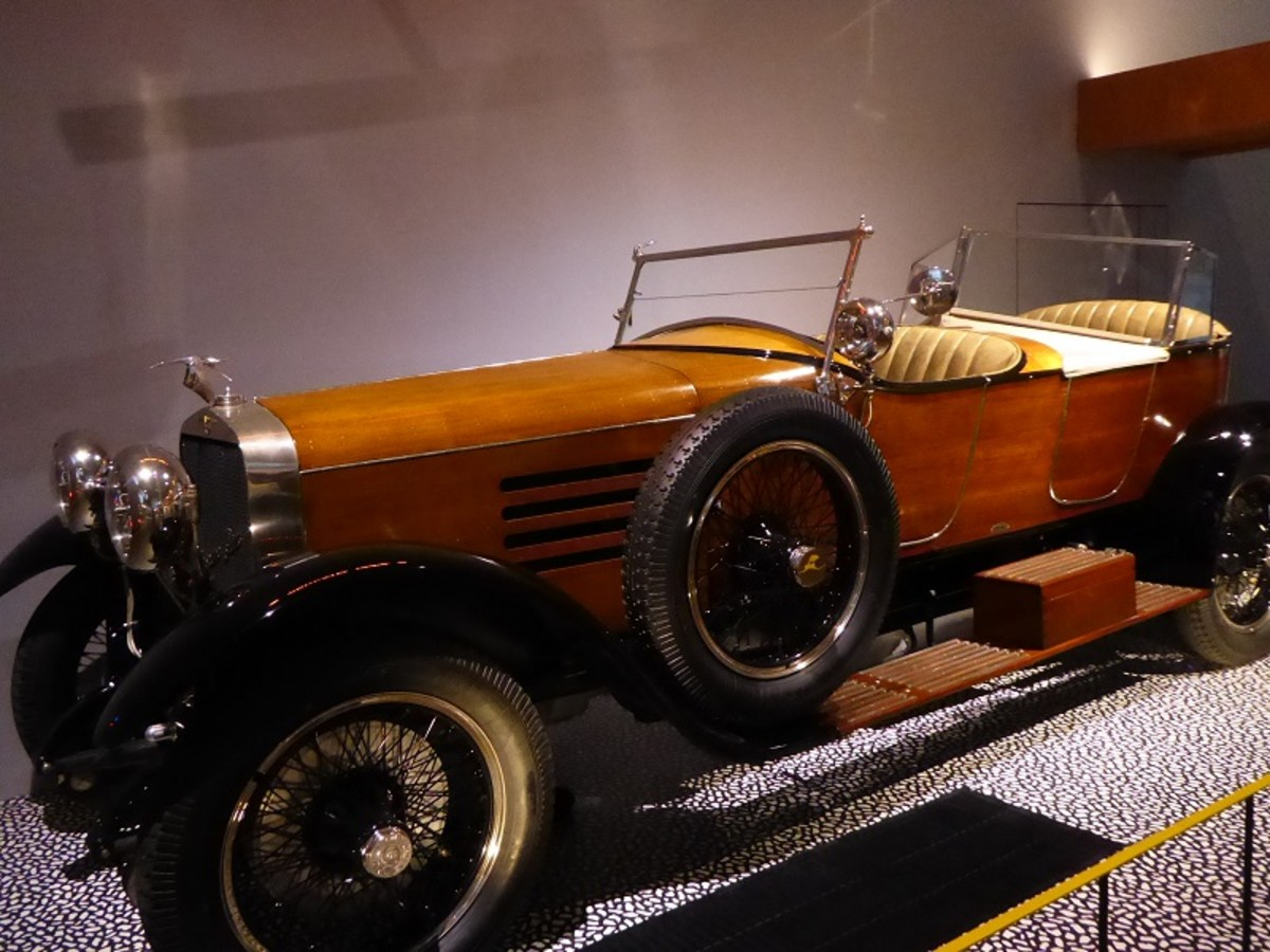 Hispano-Suiza HB6 'Skiff Torpedo'.Image by Frances Spiegel 2019 with permission from V&A Museum. All rights reserved.