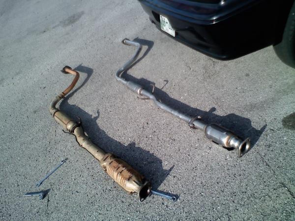 If your catalytic converter is clogged, replace it.