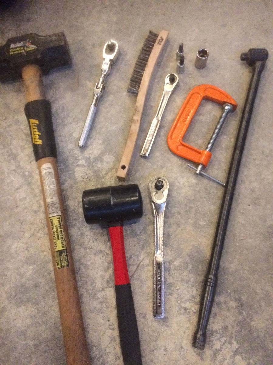 Tools needed to change brakes on your own