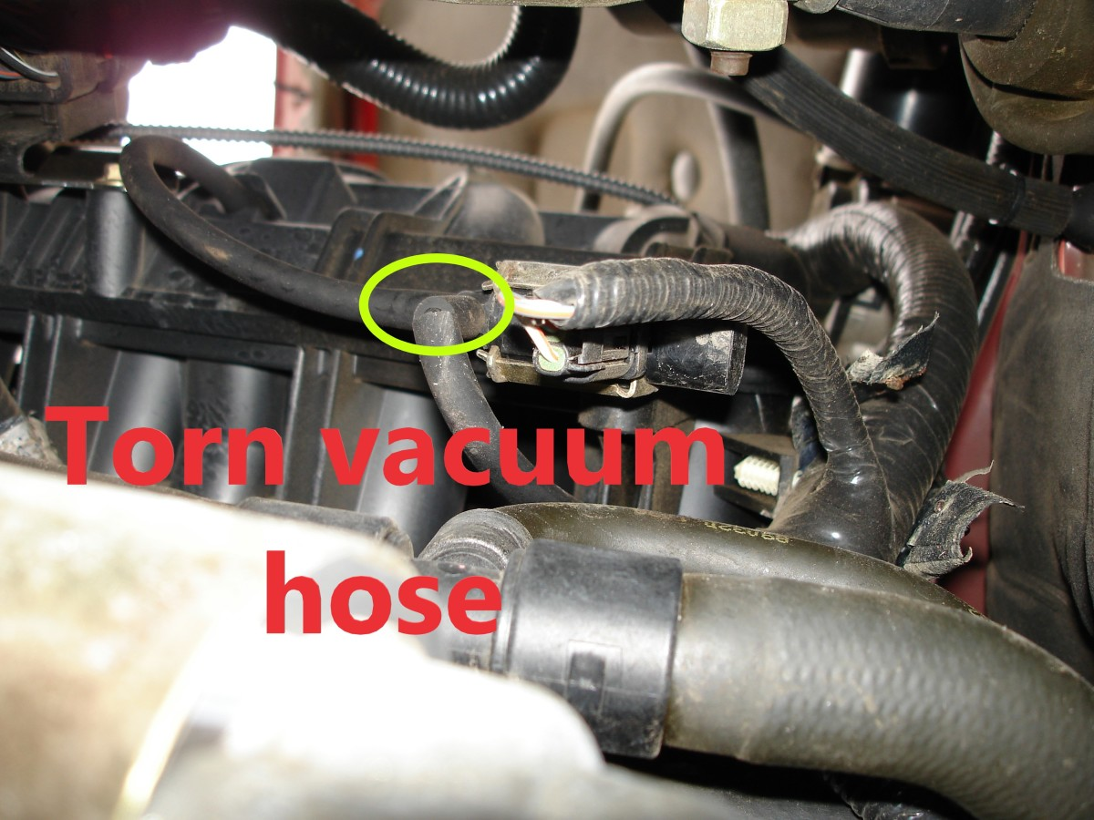 A vacuum leak can lead to engine surge.