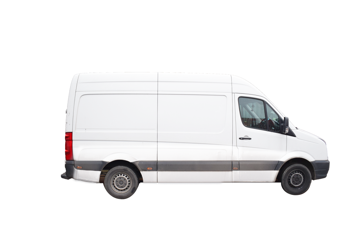 The cargo van is a good option for stealth camping or parking, when you might need to spend an occasional night in the city.