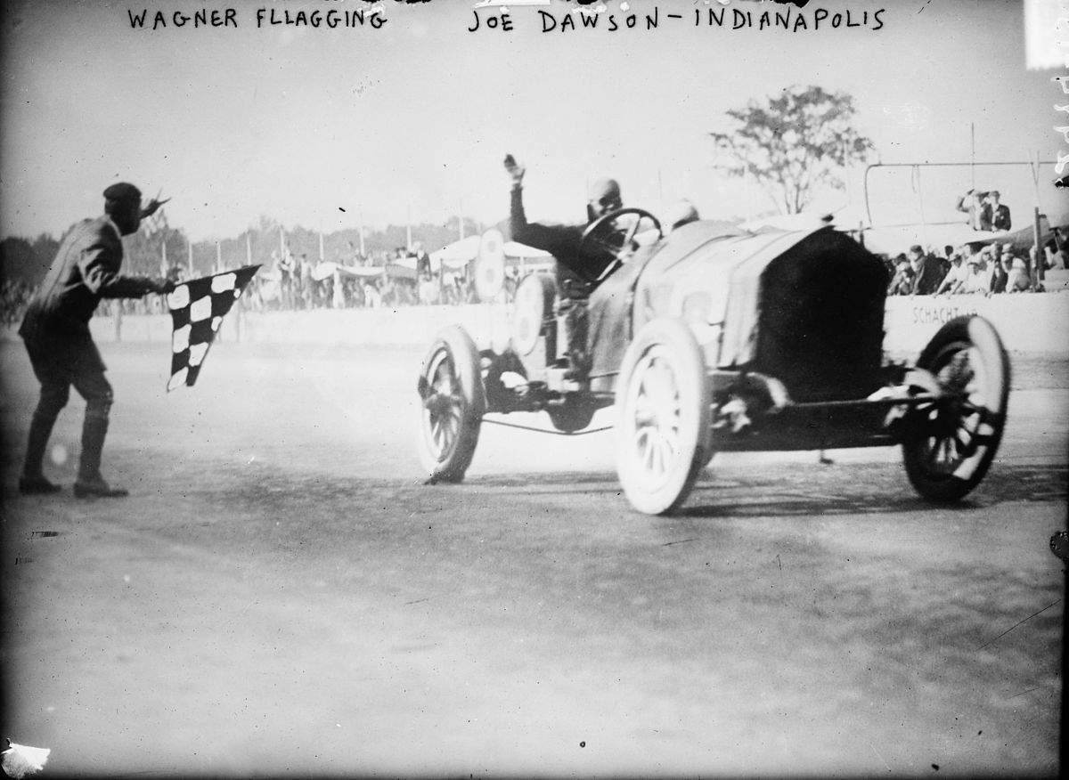 Joe Dawson wins the 1912 Indianapolis 500 at an average speed of 78.7 mph.