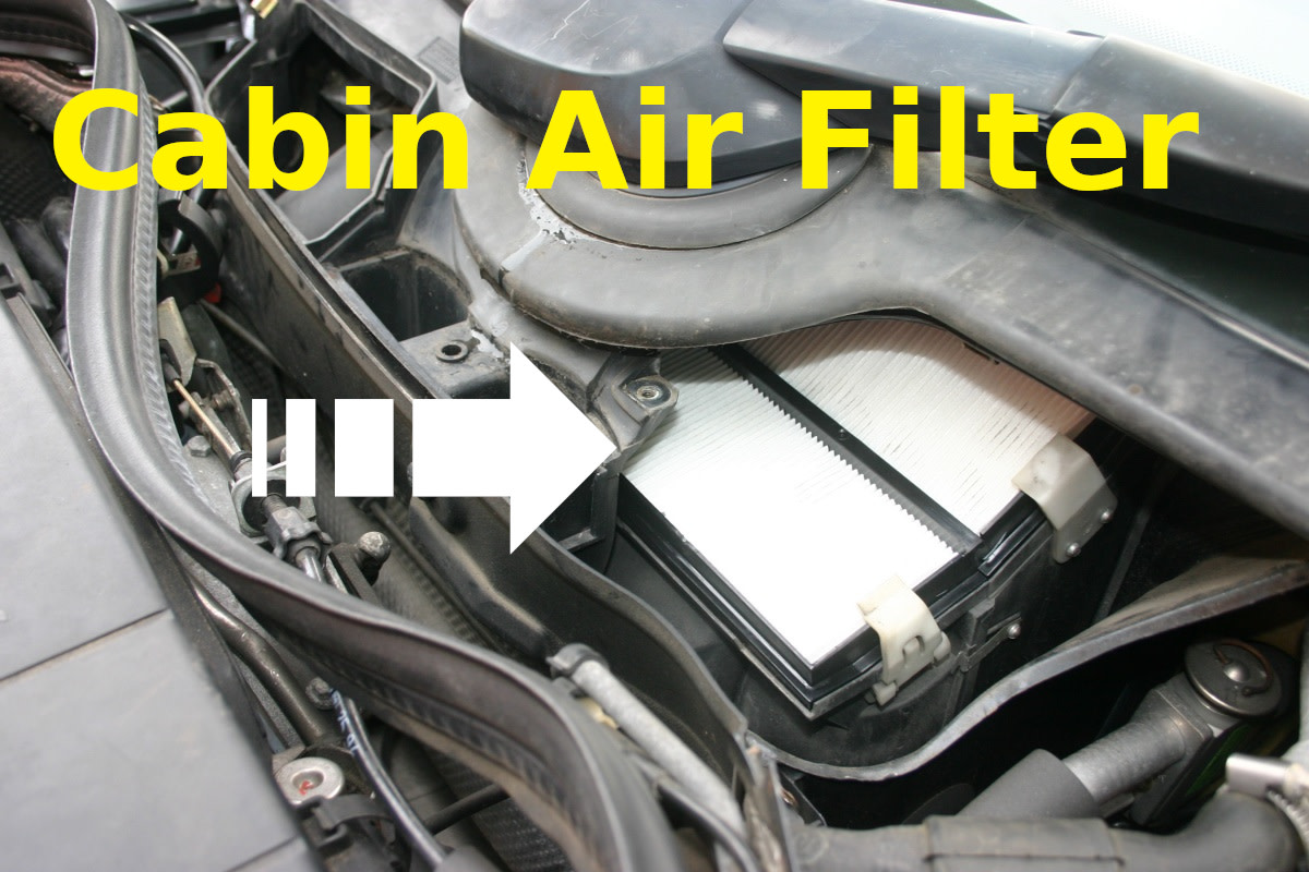 Replace the cabin air filter once a year.