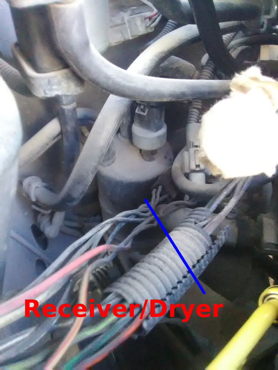 The receiver/dryer is a common source of AC problems.