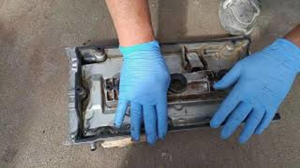 3000 GT valve cover gasket installation