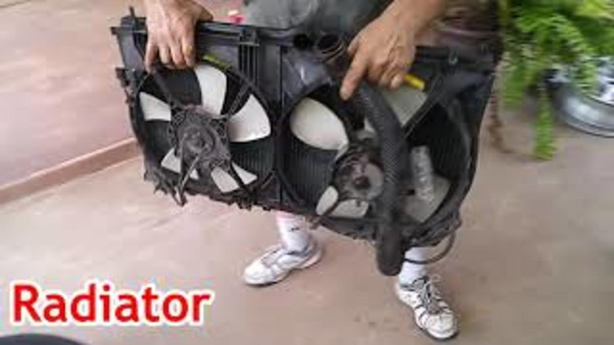 3000 GT Radiator Assembly