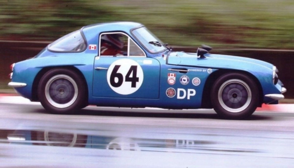1963 MG Midget powered TVR (the same body was used for the Griffith)