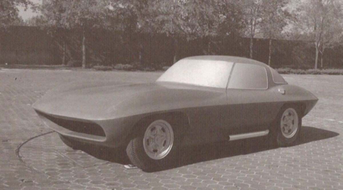 1959 and a half Corvette XP-720