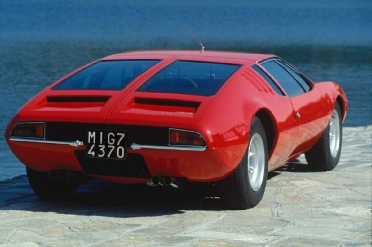 1966 Mangusta from the rear