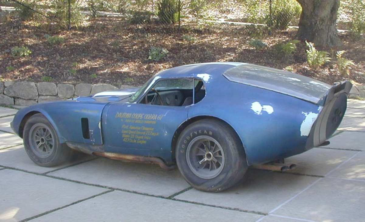 CSX 2287  - The World's most significant barn find?