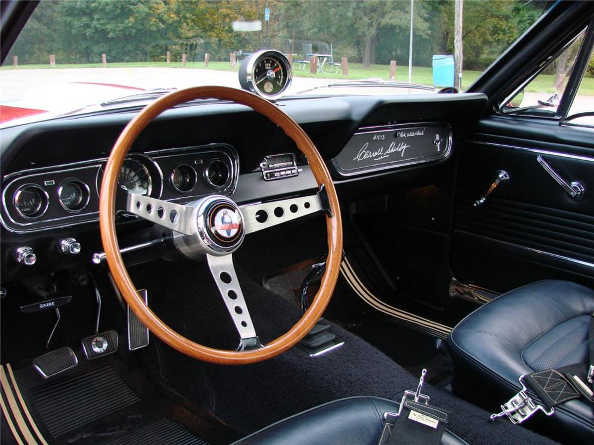1966 Shelby Mustang interior