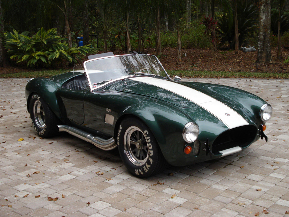 The Cobra 427, with over 500 hp.