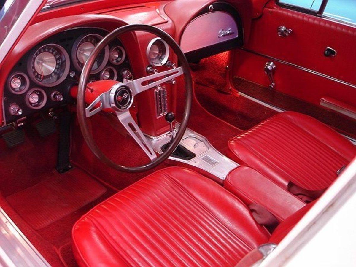 1963 Corvette interior