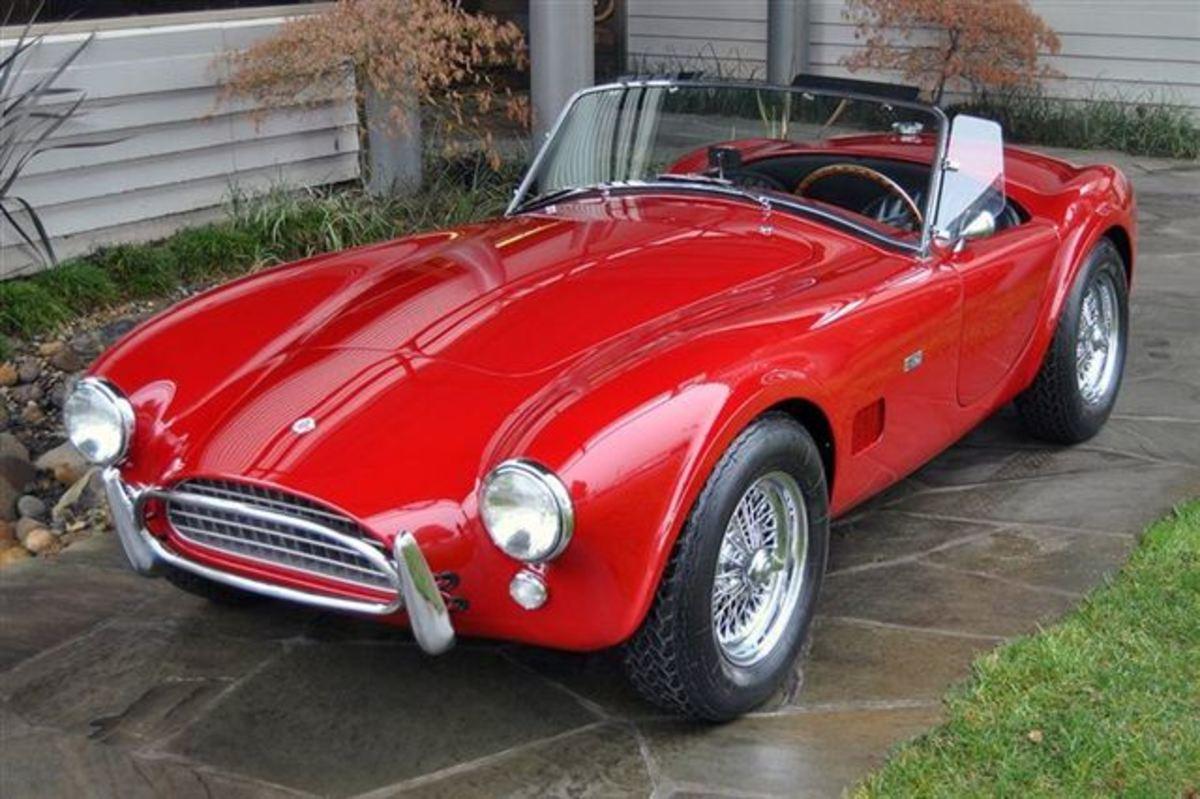 1963 Cobra 289 cu inch