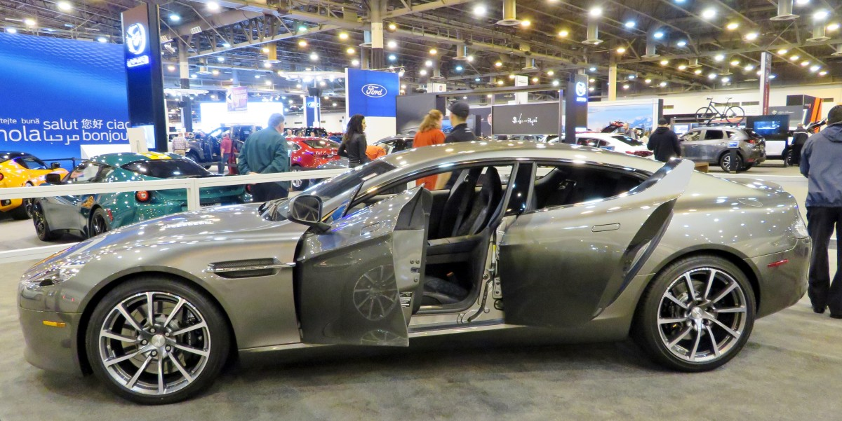 Aston Martin suggested retail price of $203,950.00