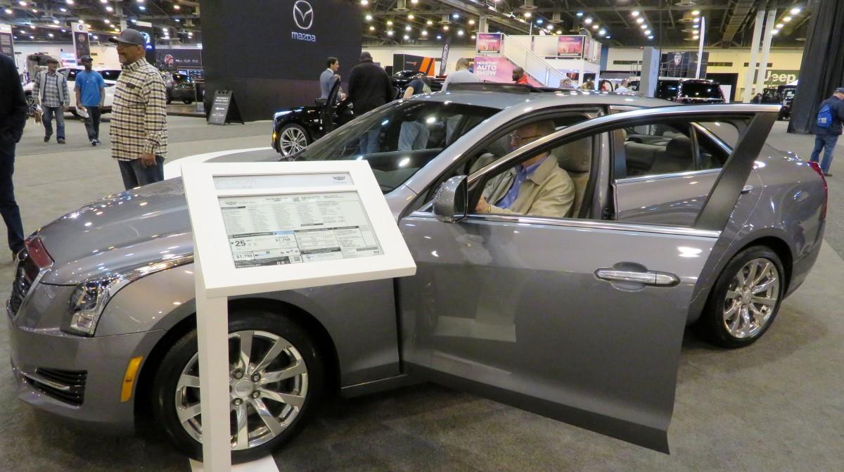 Inside the NRG Center for the Houston Auto Show