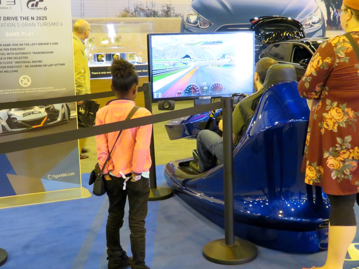 Much to do and see at the auto show